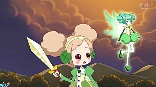 小花仙变身夏安安里的苜宿草精灵王岚图片图片