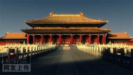 中国古代宫殿图片; 古代皇宫背景图片