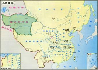 中国版图最大是是哪个朝代