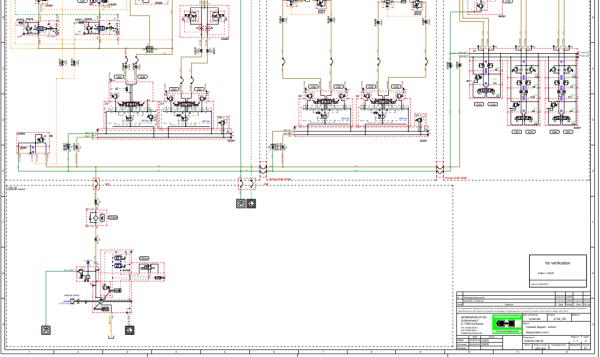 求盾构机(管片拼装机)液压系统原理图 求大神图片