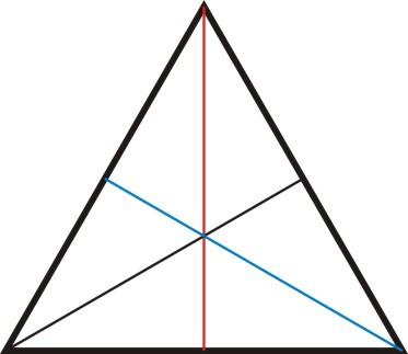 """做题过程中,看到等腰三角形,快速联想起""""等角对等边"""",""""三线合一""""相关图片"""