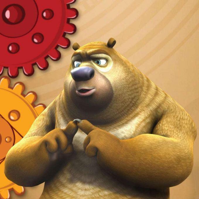 光头强动画片全集100集中熊二的性格特点是什么样的?