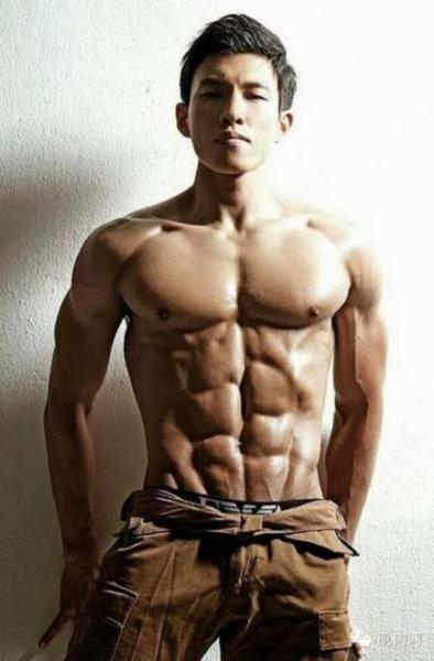 中国肌肉男模排名