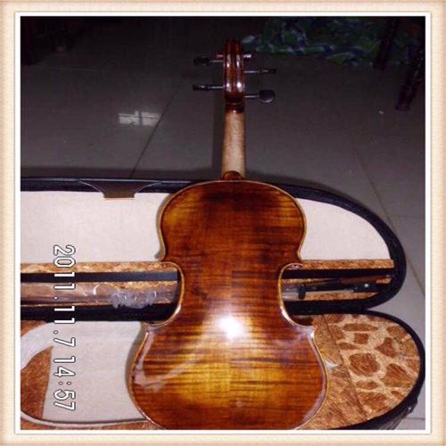 虎纹小提琴成人打折