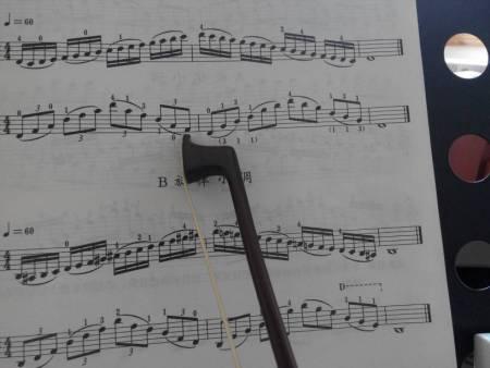 小提琴把位指法音阶图分享展示图片