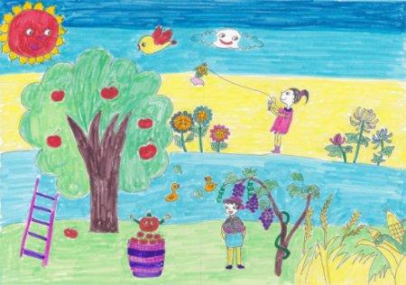 儿童画/儿童画画大全简单漂亮