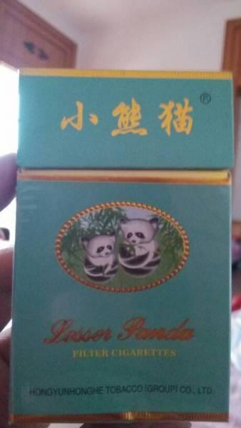 这种小熊猫烟多少钱一包啊 高清图片