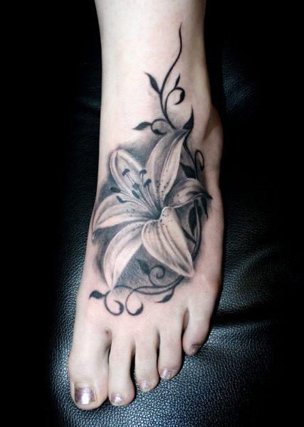 手背疤痕遮盖纹身图案分享展示图片