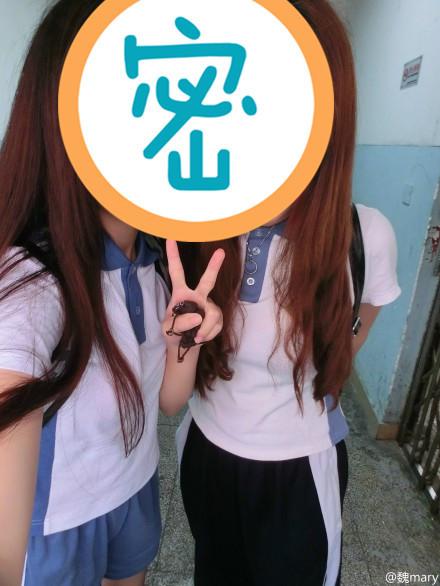 请问深圳的初中校服要怎么改短和收紧 我身高一米六 高清图片