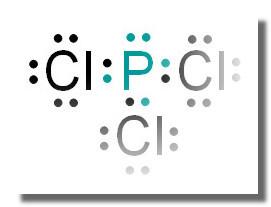 p和cl组成一种化合物,化合物各原子最外层电子都满足8图片