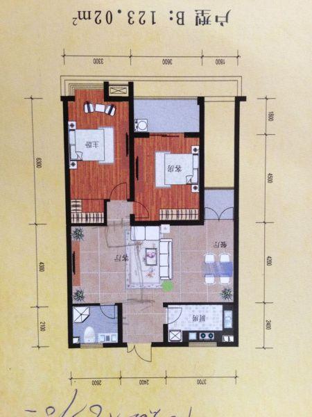 求装修平面图 室内面积100m平方 阳台进来想当客厅 想格出