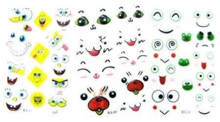 一堆萌版小动物头像|网络表情图片
