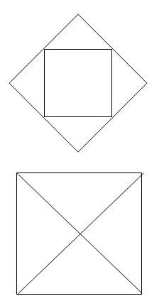 一个正方形和四个相同三角形怎样组成一个正方形图片