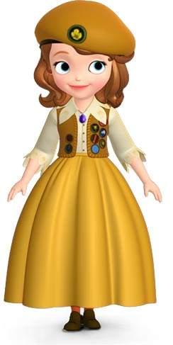《小公主苏菲亚》中的安柏是个怎么样的人?图片