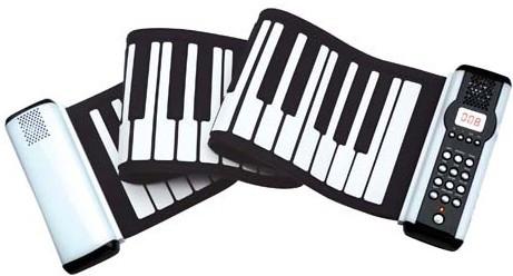 手卷钢琴键盘示意图分享展示图片